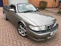AUTOMATIC SAAB 9-3 CONVERTIBLE* SERVICE HISTORY** LEATHER INTERIOR***
