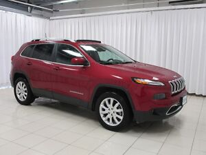 2017 Jeep Cherokee HURRY IN TO SEE THIS BEAUTY!! LIMITED 4X4 SUV