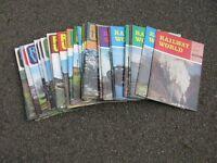 Railway World Magazines x 36