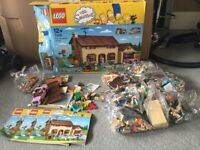Simpson Lego house - lots of lego bags unopened