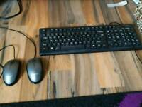 Advent keyboard and 2 mouse.