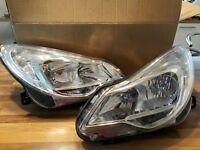 Continental headlights - Vauxhall Corsa (Excite)