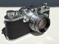 Leica iiiC Body with 5cm f2 Summitar