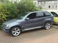 Spares or repairs 2002 02 BMW x5 3.0d mot 07.18
