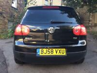 Vw Golf 1.9 TDI S Black 2008 Manual
