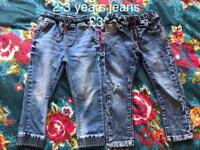 2-3 years jeans boys