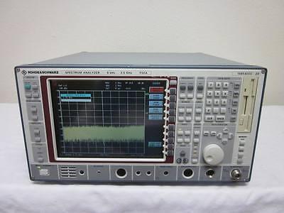 Rohde Schwarz Fsea20 9 Khz To 3.5 Ghz Spectrum Analyzer With Option B4