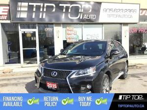 2015 Lexus RX 350 F Sport ** Nav, Leather, AWD, Sunroof **