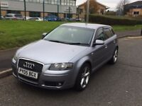 2005 AUDI A3 2.0 TDI S LINE SPORT 6 SPEED MANUAL GEARBOX GOOD CONDITION PX POSSIBLE