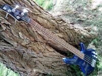 Used, Ibanez Soundgear SR300DX Bass Guitar Made In Korea With Phat II Active EQ + Case for sale  Newcastle, Tyne and Wear