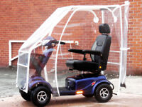 VANOS EXCEL WITH CANOPY - FREE DELIVERY - 10MPH MOBILITY SCOOTER - ELECTRIC WHEELCHAIR - POWER CHAIR