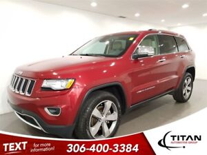 2015 Jeep Grand Cherokee Limited|4x4|CAM|Leather|Sunroof