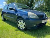 1 YEARS MOT - 2004 CLIO 1.2L - CLEAN & RELIABLE - SUPERB DRIVE