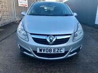 VAUXHALL CORSA 1.4 DESIGN 16V 5 DOOR 75K MILEAGE