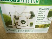 Wheatgrass 'Healthy Juicer'