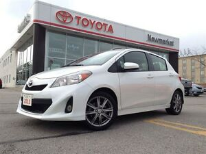 2012 Toyota Yaris SPORT, ALLOYS, BLUETOOTH, CERTIFIED