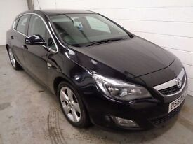 VAUXHALL ASTRA SRi , 2010/60 REG , ONLY 44000 MILES + HISTORY, LONG MOT, FINANCE AVAILABLE, WARRANTY