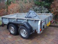 4 wheel trailer 8x4 completely refurbished