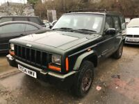 Jeep Cherokee automatic, starts and drives, being sold as spares or repair due to head gasket gone,