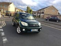 Automatic 2004 Toyota Rav 4 Black Leather Interior 5 Doors Green in Mint Condition