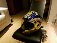 Suomy airtrix Bostrom colours motorcycle helmet