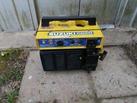 suzuki petrol portable generator 4 stroke