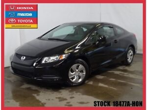 2013 Honda Civic LX+GARANTIE PROLONGÉ COMPLETE+AUTOMATIQUE++