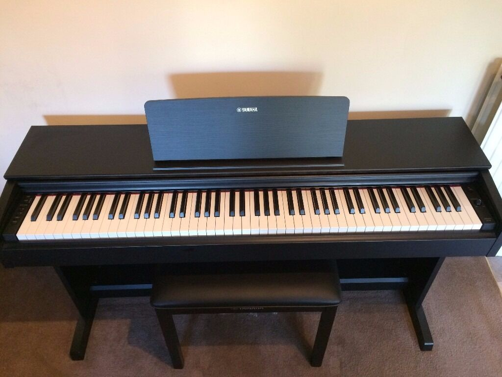 new yamaha digital pianp black arius ydp 143 in cramond edinburgh gumtree. Black Bedroom Furniture Sets. Home Design Ideas