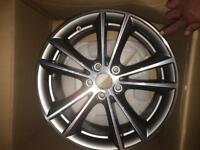 "BMW wheels x2 17""alloy series 5 x drive"