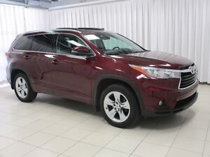 2014 Toyota Highlander LIMITED AND SUV 7PASS