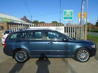VOLVO V50 2.4 D5 SE Lux Geartronic 5dr Auto (blue) 2008