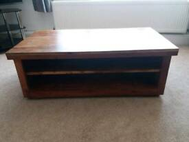 Next hardwood coffee table or tv stand