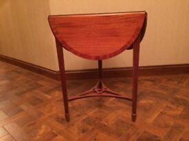 Stunning Drop Leaf Occasional Table