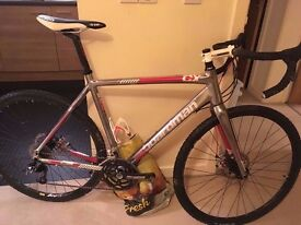55.5cm Boardman CX Team Cyclocross Bike with brake upgrade