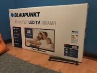 "Blaupunkt 32"" LED TV brand new never used."