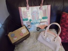 3 Pre-loved Hello Kitty Bags