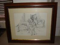 2 bedington terrier pictures