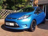 Ford Fiesta, 5 Door, 1.4 Petrol, Automatic,Gloss Black Alloys