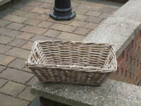Wicker Baskets in very good condition. 2 at £5 each