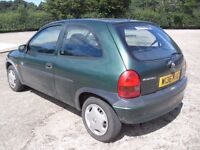 2000 VAUXHALL CORSA CLUB 1.2 16v NEW MOT