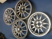 """Alloy Team Dynamic wheels 7""""x15"""" Fit Ford, citreon , Peugeot"""