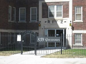 The Ritz Apartments, Bachelor Apartment Available August 1 from