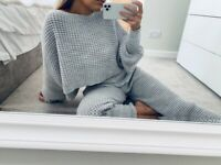 Jumper and Jogger Knitted Co-ord Loungeset