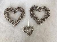 Shabby Chic Hearts Wedding Decorations