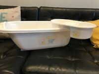 Baby bath & top and tail tub