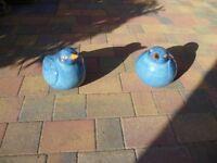 Blue Bird Garden Ornaments