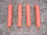 Henderson Garage Door Springs, Orange, Heavy Duty