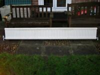 Long Convection Radiator For Central Heating