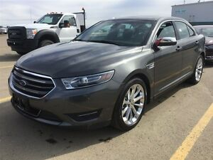 2016 Ford Taurus LIMITED AWD - LEATHER, NAV & MOONROOF *5550KM*