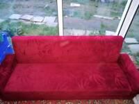 Retro sofa / Sofa bed. Very firm. Good quality